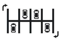 Parking design Stock Photo