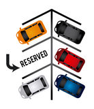 Parking design Stock Image