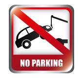 Parking design Royalty Free Stock Photography