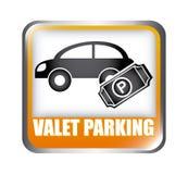 Parking design Royalty Free Stock Image