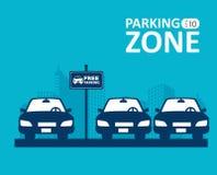 Parking design. Stock Images