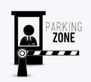 Parking design. Royalty Free Stock Image