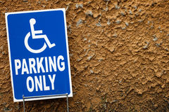 Parking only Royalty Free Stock Photo