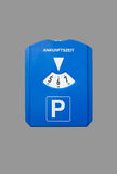 Parking disc Royalty Free Stock Image