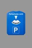 Parking disc Stock Photos