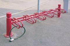 Parking dla cykli/lów, strefa karambol cykle zdjęcie royalty free