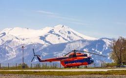 Parking dla helikopterów Obrazy Royalty Free