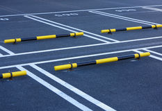 Parking. Empty parking in a hotel Royalty Free Stock Photo