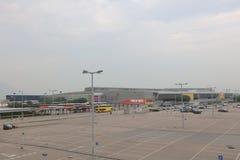 Parking en aéroport de Hong Kong Photo stock