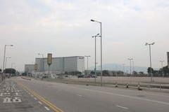 Parking en aéroport de Hong Kong Photos libres de droits