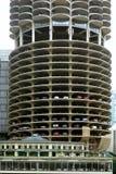 Parking en Chicago, Illinois fotografía de archivo libre de regalías