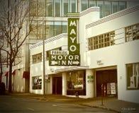 Parking en Tulsa fotografía de archivo libre de regalías