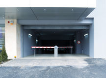 Parking entrance Royalty Free Stock Image