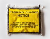 Parking fine Stock Photos