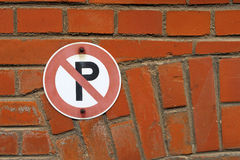 Parking forbidden Royalty Free Stock Image
