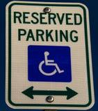 parking fotografia przygotowywający znak używać Obrazy Royalty Free