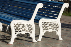 Parking furniture Royalty Free Stock Images