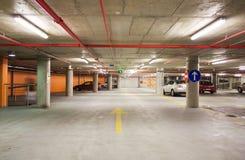 Parking garage. Shot of underground parking garage Royalty Free Stock Images
