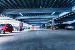 Parking garage Stock Image