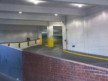 Parking garage entrance Stock Photography