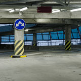 Parking garage - Exit Stock Image