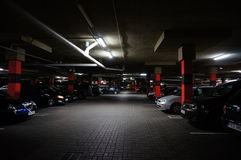 Parking garage Royalty Free Stock Photo