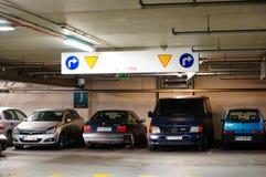 Parking garage royalty free stock images