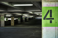 Parking Garage Safety Royalty Free Stock Images
