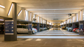 Parking garage WTC The Hague Stock Photography