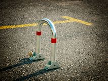 Parking guard Stock Photography
