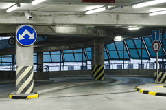 Parking hall Royalty Free Stock Photos