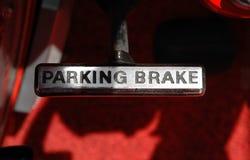Parking hamulec zdjęcie stock