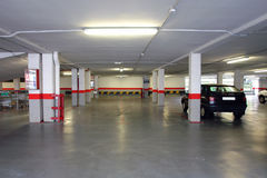 Parking House Stock Photography