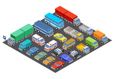 Parking. royalty free illustration