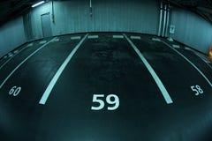 Parking image. Shooting location : Sendai, Miyagi Prefecture stock image