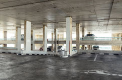 Parking indoor old building Royalty Free Stock Images