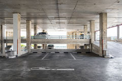 Parking indoor old building Royalty Free Stock Photo