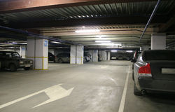 Parking interior Royalty Free Stock Image