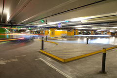 Parking interior / underground garage Royalty Free Stock Image