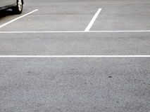 Parking lane outdoor Stock Photos