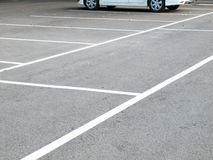Parking lane outdoor Royalty Free Stock Images
