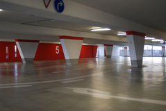 Parking level Royalty Free Stock Photo
