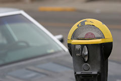 parking licznika Zdjęcia Royalty Free