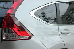 Parking lights Stock Photo