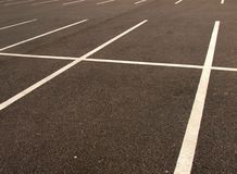 Parking lot Stock Photography