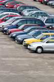 Parking lot Stock Images