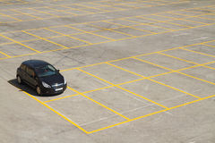 Parking lot royalty free stock images