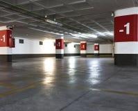 Parking Lot. Underground empty parking lot Stock Photography
