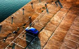 Parking Lot Royalty Free Stock Photo