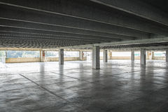 A parking lot empty Royalty Free Stock Images
